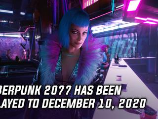 Cyberpunk 2077 delayed to December 10, 2020