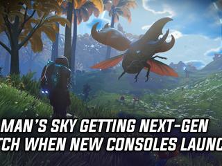 No Man's Sky: Next Generation patch launching alongside new consoles