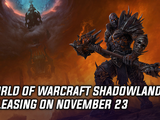 WoW Shadowlands expansion launching on November 23