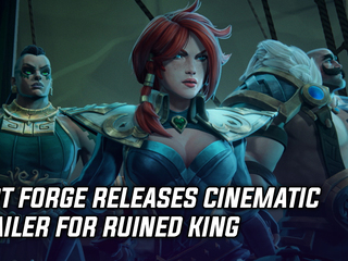 Riot Forge released cinematic trailer for Ruined King