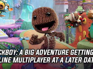 Sackboy: The Big Adventure gets online co-op at a later date
