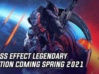 Bioware announces Mass Effect Legendary Edition