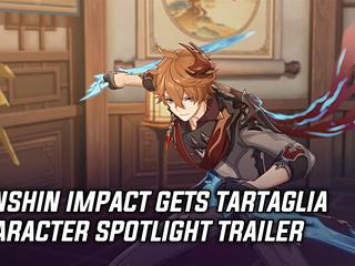 Genshin Impact gets Tartaglia Character Spotlight trailer