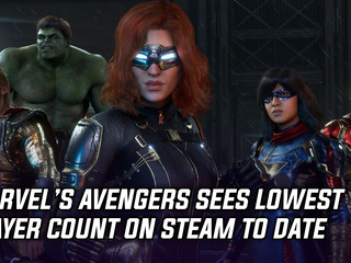 Marvel's Avengers suffering low player count on Steam