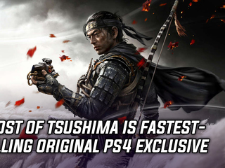 Ghost of Tsushima becomes fastest-selling original PS4 exclusive