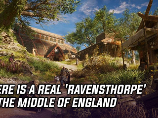 There is a real 'Ravensthorpe' in the middle of England
