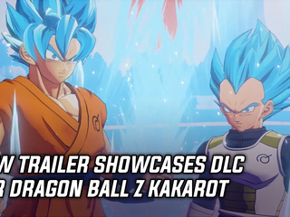 New trailer showcases DLC for Dragon Ball Z Kakarot