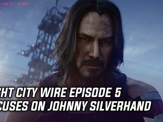 Night City Wire episode 5 focuses on Johnny Silverhand