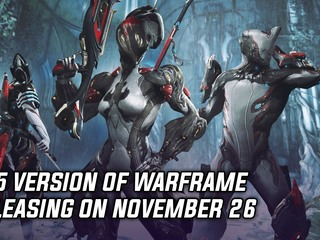 PS5 version of Warframe releasing on November 26