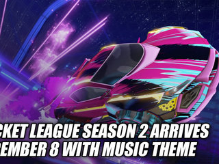 Rocket League Season 2 Arrives December 8 With Music Theme