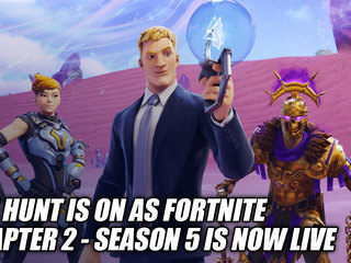 The Hunt Is On As Fortnite Chapter 2 - Season 5 Is Now Live
