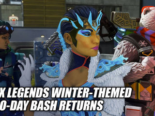 Apex Legends WInter-Themed Holo-Bash Has Returned