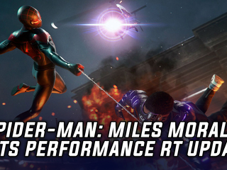 'Spider-Man: Miles Morales' Gets Performance RT Update