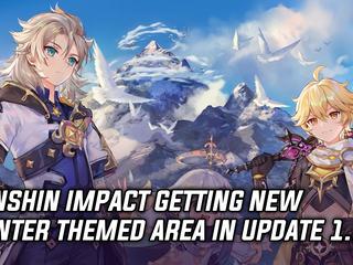 Genshin Impact adding new area in update 1.2