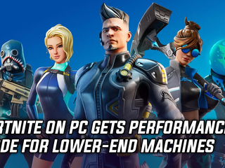 Fortnite on PC gets performance mode for lower-end machines