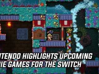 Nintendo announces 19 indie games coming to the Switch