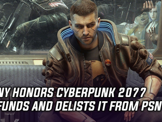 Sony honors Cyberpunk 2077 refunds and delists it from PSN