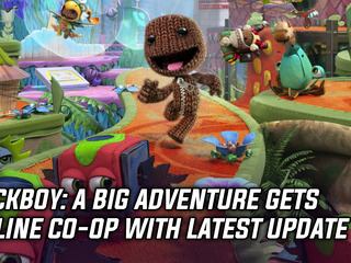 Sackboy: A Big Adventure gets online co-op with latest update