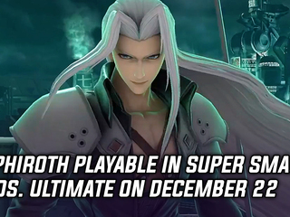 Sephiroth coming to Super Smash Bros. Ultimate on December 22