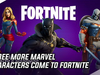 Three more Marvel characters come to Fortnite