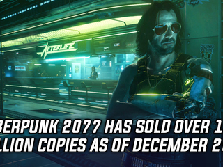 Cyberpunk 2077 has sold over 13 million copies as of December 20th