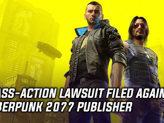 Class-action lawsuit filed against Cyberpunk 2077 publisher