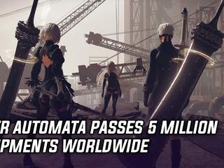 Nier Automata passed five million shipments worldwide
