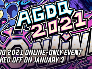 AGDQ 2021 online-only event kicked off on January 3