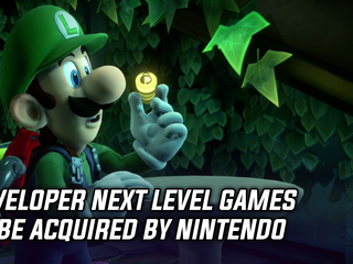 Developer Next Level Games to get acquired by Nintendo