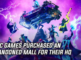 Epic Games establishes base of operations in abandoned mall