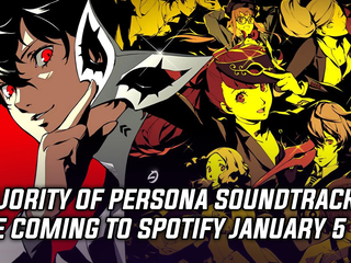 Persona Soundtracks now available on Spotify and Apple Music