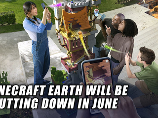 Minecraft Earth will be shutting down in June