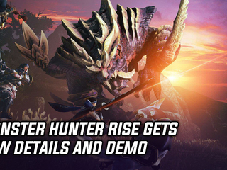 Monster Hunter Rise gets a ton of new info