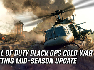 COD Black Ops: Cold War gets mid-season update next week