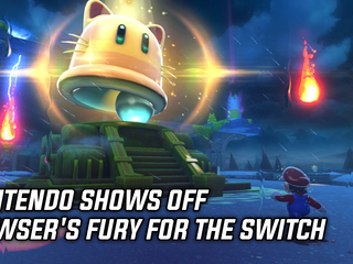 Nintendo shows off Bowser's Fury for the Switch