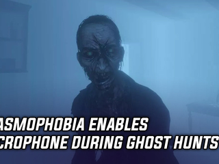 Phasmophobia enables microphone during ghost hunts
