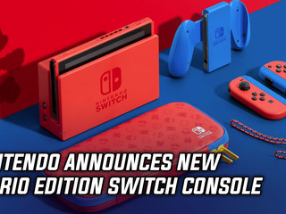 Nintendo announces new Mario Edition Switch console