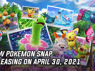 New Pokemon Snap releasing on April 30, 2021
