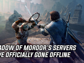 Shadow of Mordor's servers have officially been shut down