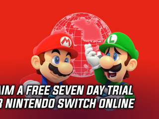 Claim a free 7-day trial for Nintendo Switch Online