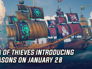 Sea of Thieves introducing Seasons on January 28