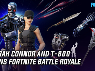 Sarah Connor and T-800 joins Fortnite Battle Royale