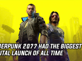 Cyberpunk 2077 had the biggest digital launch of all time