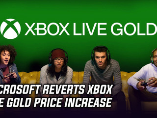 Microsoft reverts Xbox Live Gold price increase