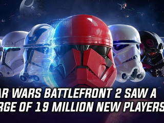 Star Wars Battlefront 2 saw a surge of 19 million new players