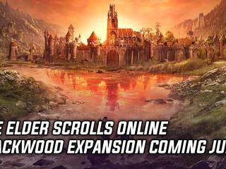 The Elder Scrolls Online Blackwood expansion coming June