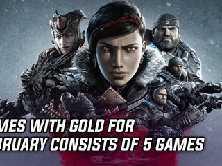 Games with Gold for February consists of 5 games
