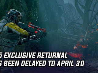 PS5 exclusive Returnal has been delayed to April 30