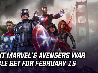 Next Avengers War Table scheduled for February 16