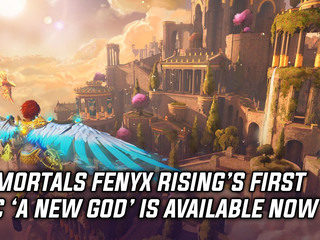 A New God DLC for Immortals Fenyx Rising is available